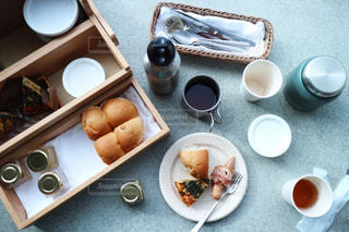 星のや富士の朝食の写真・画像素材[1030474]