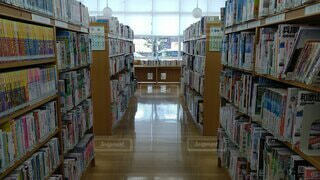 図書館の写真・画像素材[4343798]
