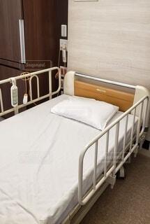 入院ベッドの写真・画像素材[4407997]