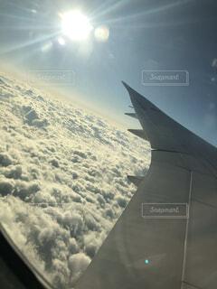 空の旅の写真・画像素材[3946486]