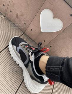 靴一足の写真・画像素材[3947452]