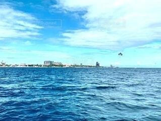 空と海の写真・画像素材[4023409]