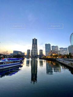 都会の景色の写真・画像素材[4239468]