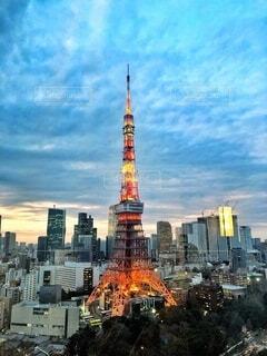 東京タワーの写真・画像素材[3962669]