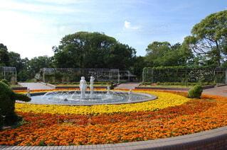 公園の噴水の写真・画像素材[3962980]
