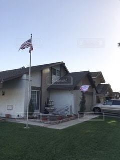 アメリカのお家の写真・画像素材[3965044]