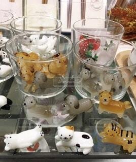 猫の箸置きの写真・画像素材[3994655]