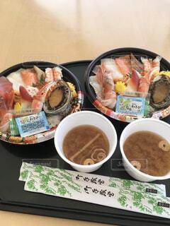 海鮮丼の写真・画像素材[4385214]
