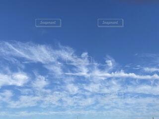 晴れた日の空の写真・画像素材[4014692]