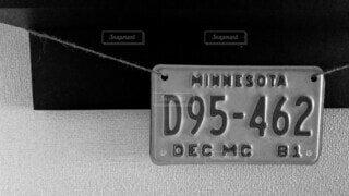ナンバープレートの写真・画像素材[4247730]