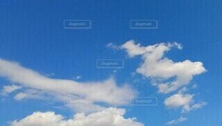 空の雲の群の写真・画像素材[4353100]