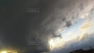 空の雲の群の写真・画像素材[4501608]