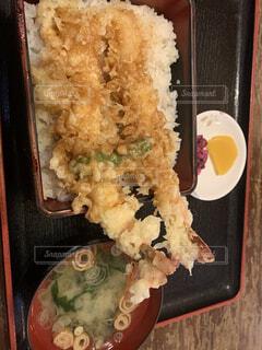山梨県小作天丼の写真・画像素材[3989579]