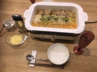 調理器具を使った料理の写真・画像素材[4006653]
