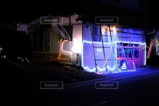 イルミネーション街道の風景の写真・画像素材[4022920]