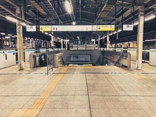 駅の間を近くの写真・画像素材[4014641]