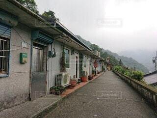 台湾猫村の猴硐の風景の写真・画像素材[4823944]
