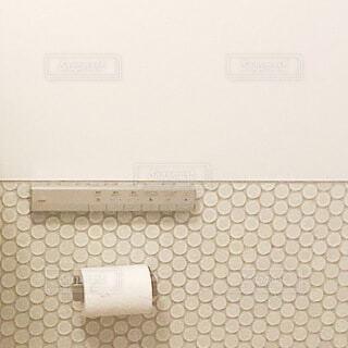 お洒落な家のトイレの写真・画像素材[4002467]