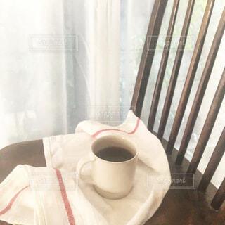 朝のコーヒータイムの写真・画像素材[4122053]