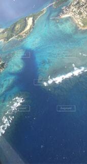 沖縄の空と海の写真・画像素材[4003439]