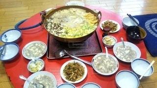 相撲部屋の朝食の写真・画像素材[4072819]