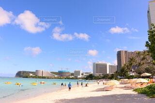 グアムのビーチにて☆の写真・画像素材[4007173]