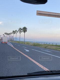 夕暮れ時の淡路島の写真・画像素材[4017284]