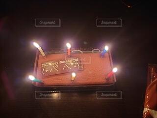 誕生日ケーキの写真・画像素材[4017463]