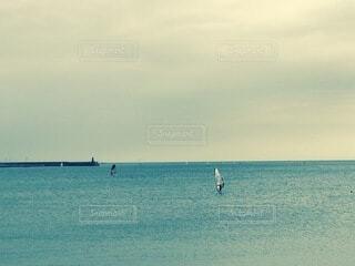 逗子海岸の写真・画像素材[4017709]