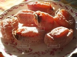 皿の上の食べ物のクローズアップの写真・画像素材[4032338]
