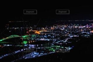 宇品地区の夜景の写真・画像素材[4196578]