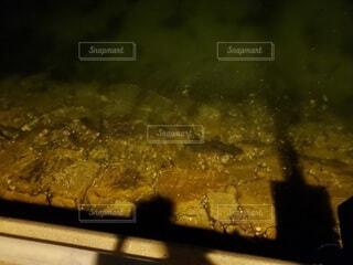 夜の港の写真・画像素材[4222968]