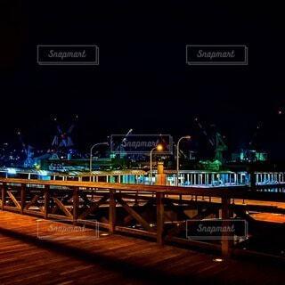 呉の夜景の写真・画像素材[4278588]