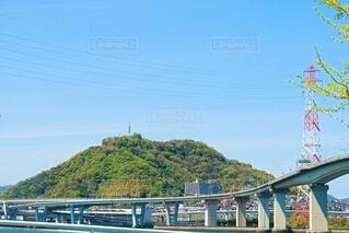 黄金山と海田大橋の写真・画像素材[4327178]