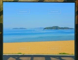 ビー玉海岸からの景色の写真・画像素材[4328116]