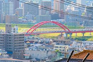 戸坂からみた安芸大橋の写真・画像素材[4344192]
