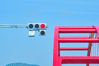 赤信号の写真・画像素材[4347346]