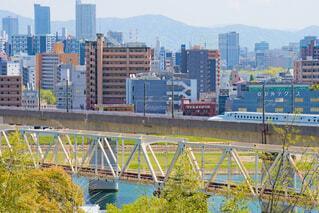 竜王町で見る新幹線の写真・画像素材[4347356]