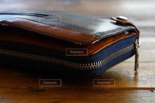 10年使った長財布の写真・画像素材[4392370]
