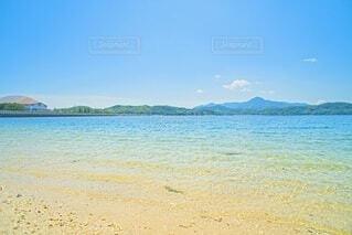 サザンセトとうわの透き通る海の写真・画像素材[4637403]