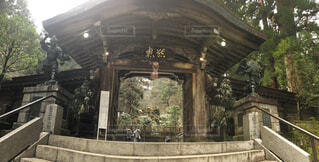 最乗寺の結界門 両サイドには守護神の天狗が鎮座しているの写真・画像素材[4029762]