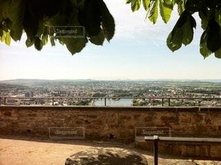 ドイツのお城からライン川を眺めるの写真・画像素材[4043401]