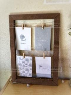 部屋の小物の写真立ての写真・画像素材[4106018]