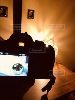 一眼レフの写真の写真・画像素材[4058399]
