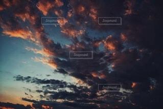 空の雲の写真・画像素材[4025488]