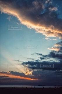 空の雲の写真・画像素材[4025485]