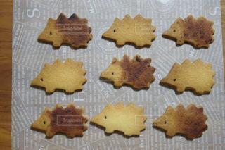 ハリネズミクッキーの写真・画像素材[3133500]