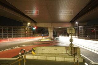 道路の光の写真・画像素材[4026670]
