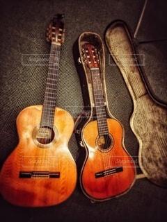 ギターのクローズアップの写真・画像素材[4059711]