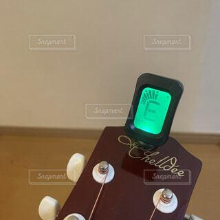 ギターチューニングの写真・画像素材[4040593]